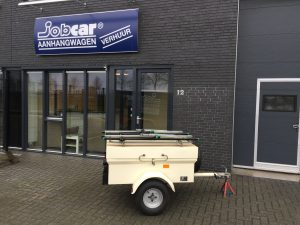 JobCar aanhanger huren Etten-Leur bagagewagen 400 Kg. Sigarenmakerstraat 12, 4871 EL te Etten-Leur