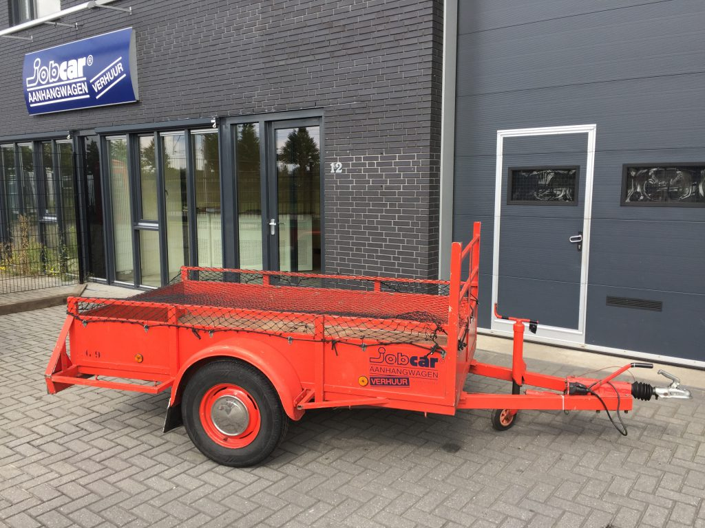 Geremd open bakwagen, enkel as