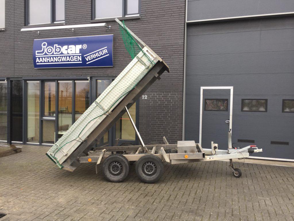 tandem kipper aanhangwagen, tandem asser tot 2000 kg.