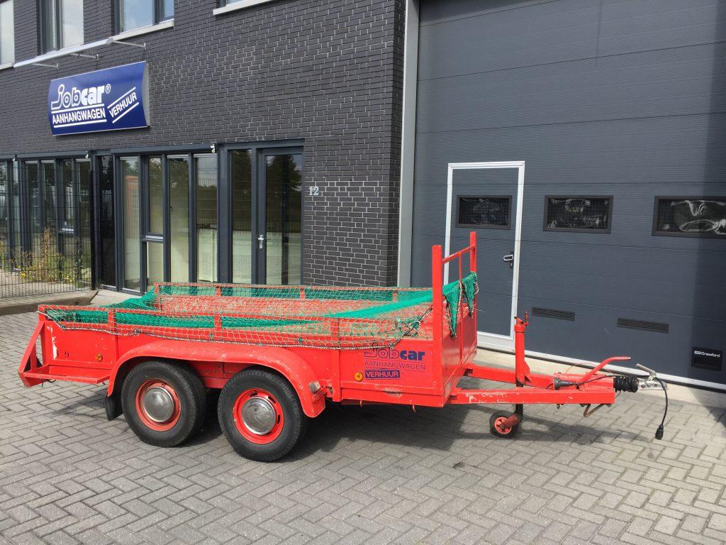 tandem open aanhangwagen, tandem asser tot 1100 kg.