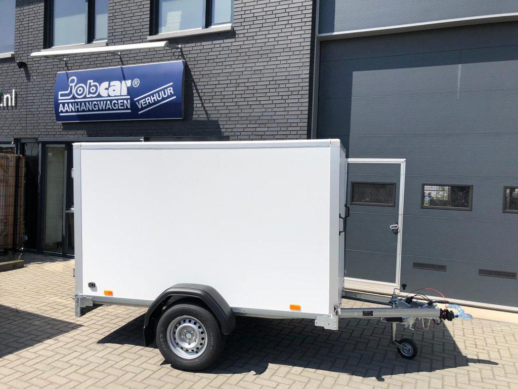 Aanhangwagens: Geremd harde opbouw tot 1350 kg